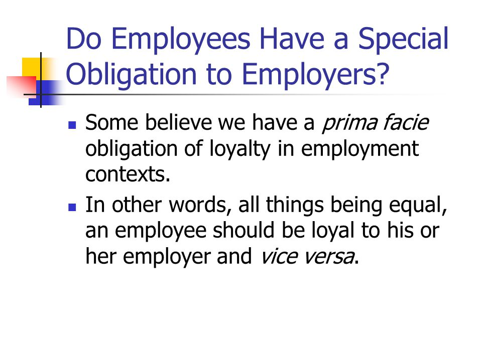 Whistleblowing and employee loyalty