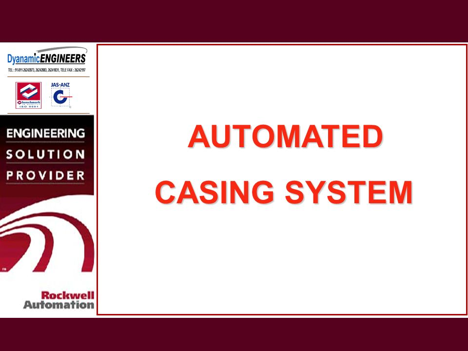 AUTOMATED CASING SYSTEM
