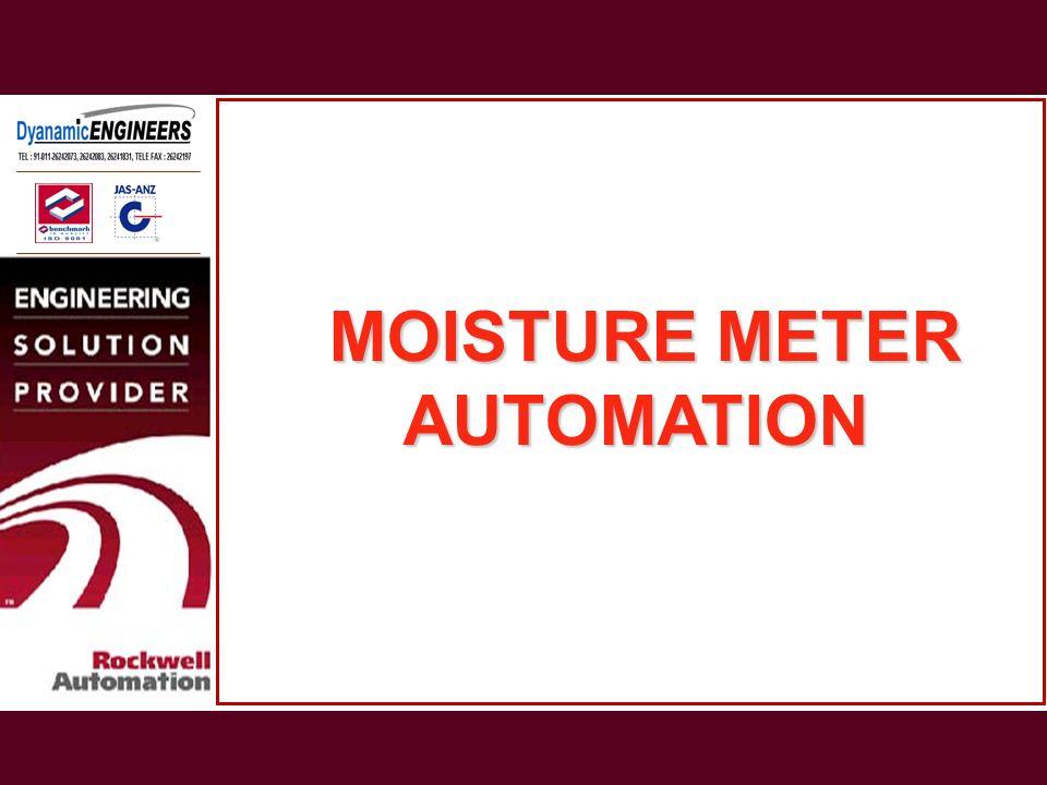 MOISTURE METER AUTOMATION