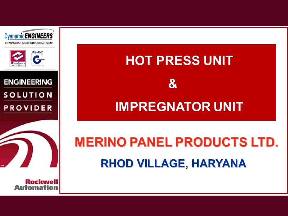 MERINO PANEL PRODUCTS LTD.