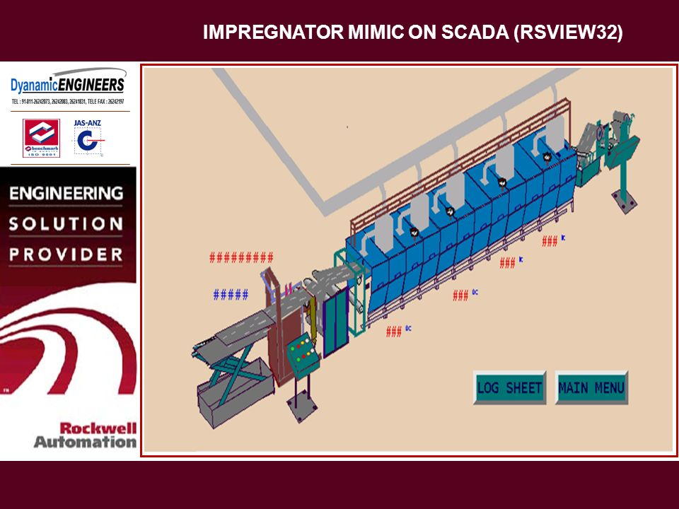 IMPREGNATOR MIMIC ON SCADA (RSVIEW32)