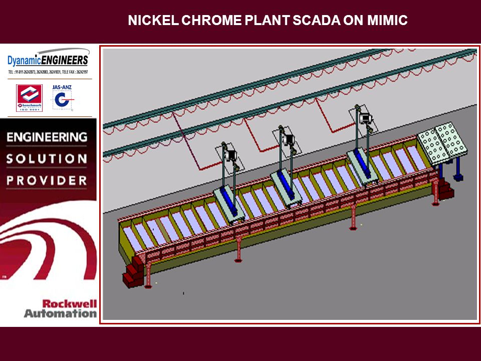 NICKEL CHROME PLANT SCADA ON MIMIC