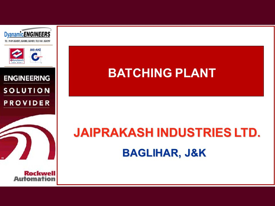 JAIPRAKASH INDUSTRIES LTD.