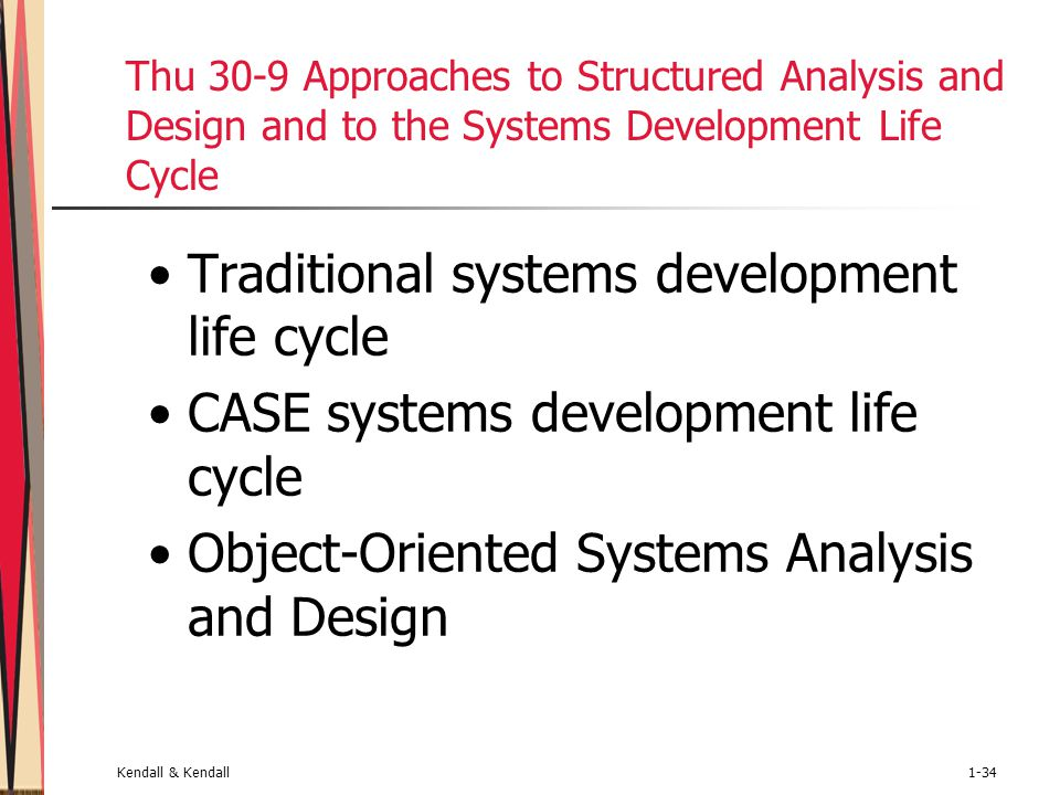 case study with system development life cycle System development case  different implementation options that the why is  following an sdlc important  study current system (limitations and abilities.