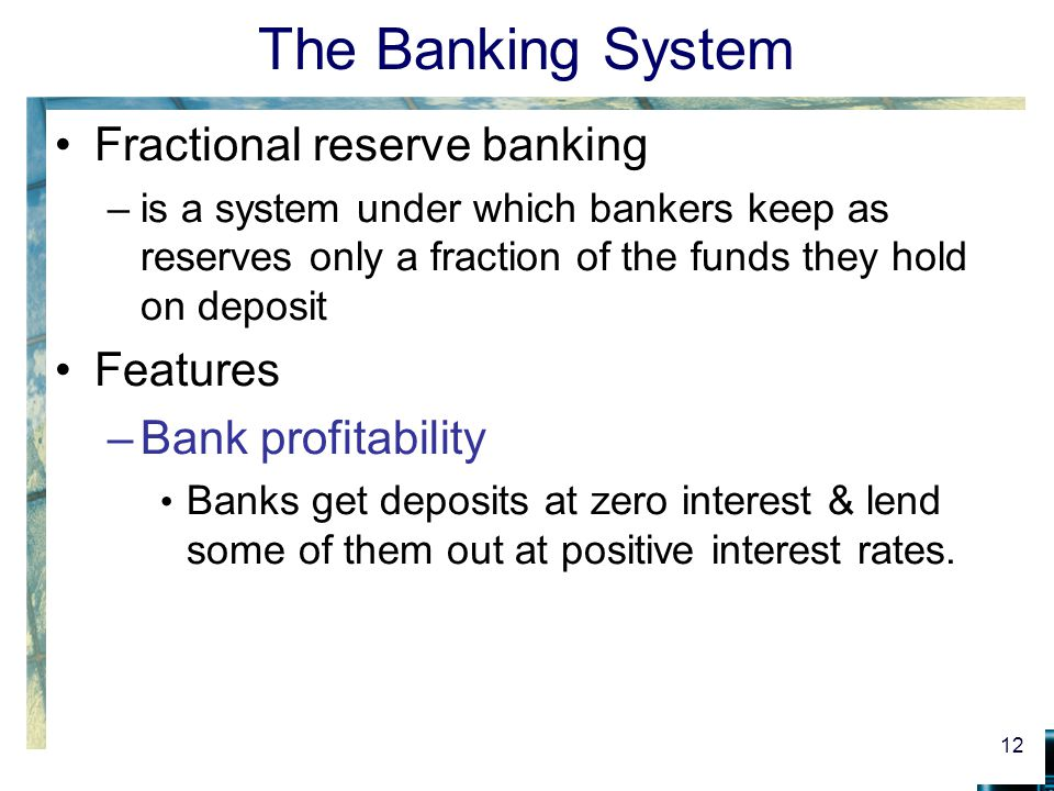 money and the banking system Reference: gregory mankiw's principles of macroeconomics, 2nd edition,  chapter 15 the banking system and the money supply the federal reserve  system.