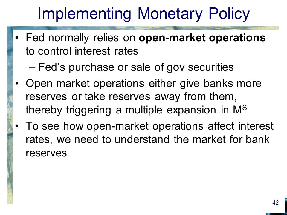 fed interest rate and monetary policy essay A premier membership is required to view the full essay  the federal reserve and monetary policy   federal funds rates are the interest rate at which depository .