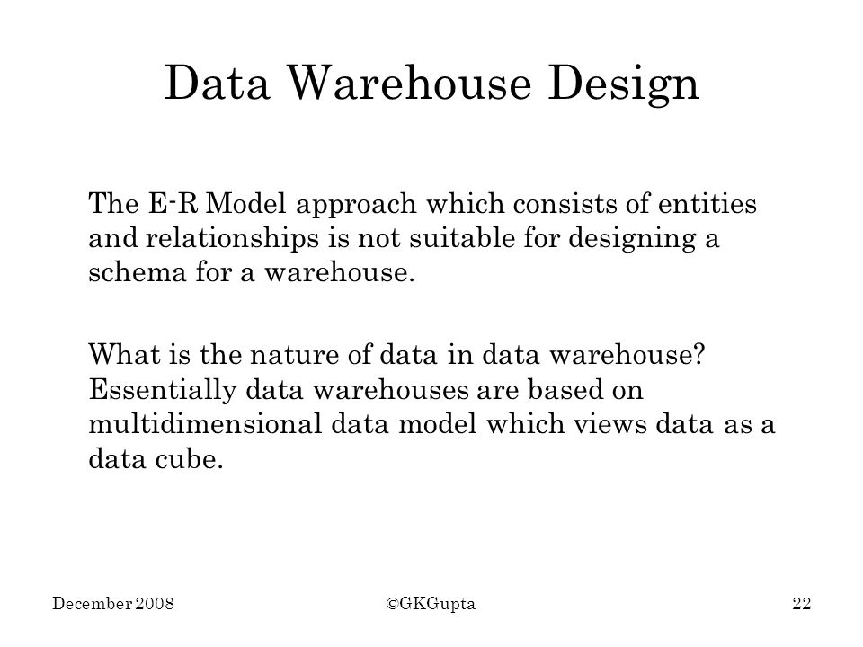 Data Warehousing And Olap Under Construction Ppt Video Online Download