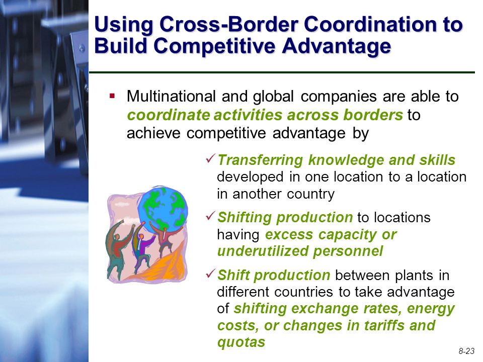 Using Cross-Border Coordination to Build Competitive Advantage
