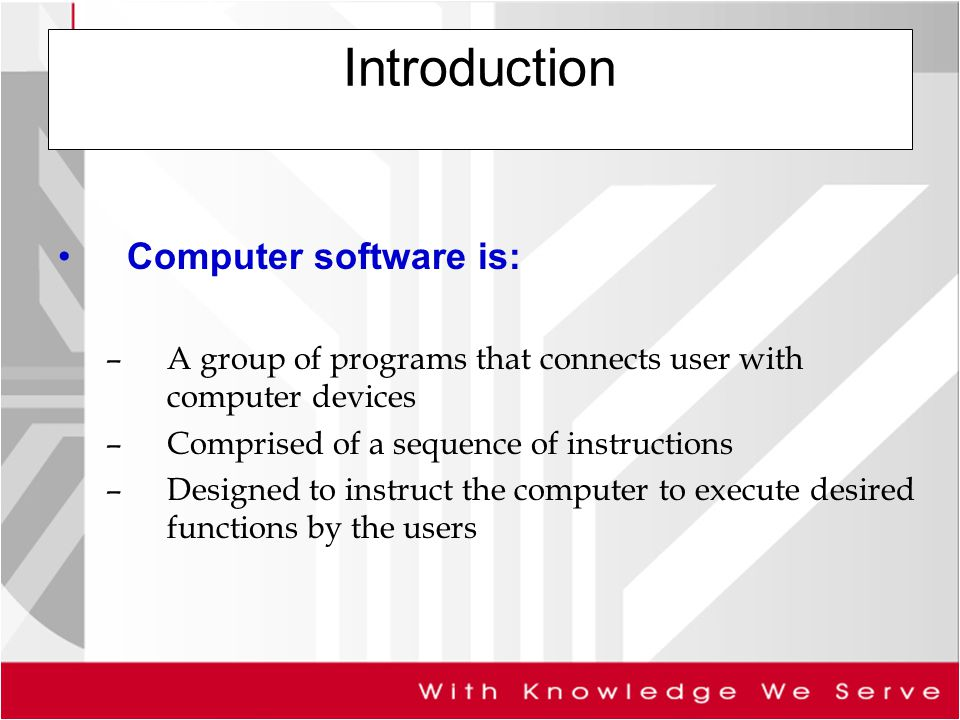 an introduction to the work by computer programmers the writers of computer programs Computer programmers write and test code that allows computer applications and software programs to function properly they turn the program designs created by software developers and engineers into instructions that a computer can follow most computer programmers have a bachelor's degree .