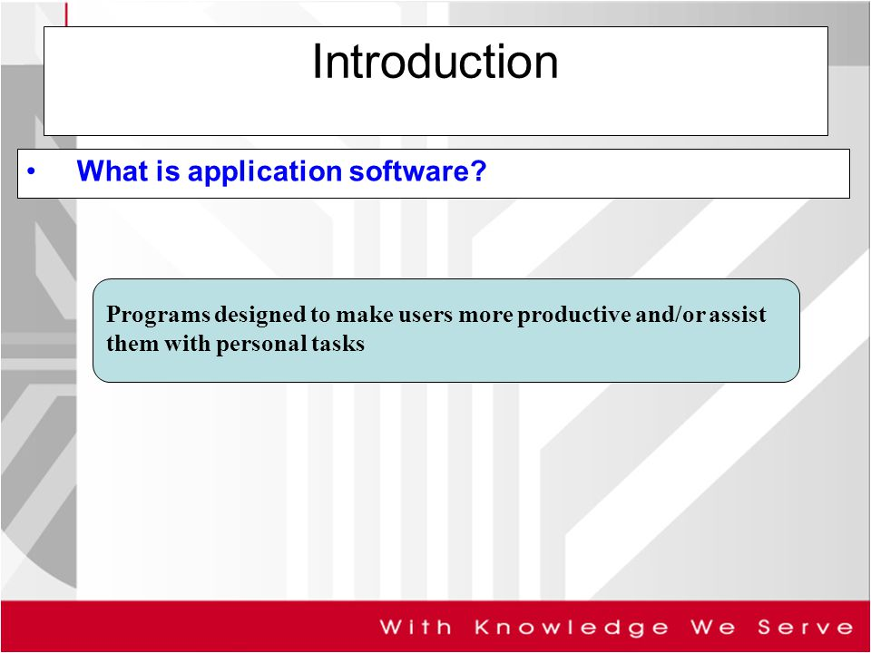 personal computer and application software d D operating systems are software packages that integrate the many functions of a business, while application software works with a minimal degree of overlap e operating systems are software packages offered by a third party, while application software contains programs that are designed in-house.