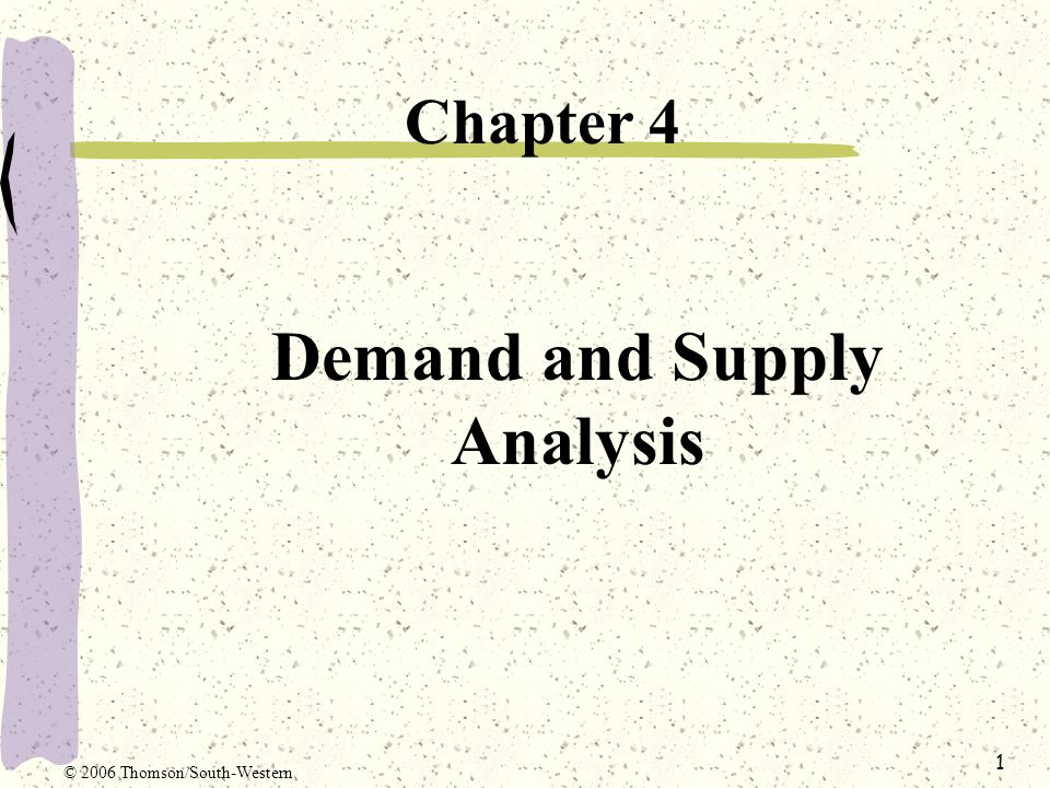 analysis of demand and supply of In space planning, supply and demand analysis is a fit or gap analysis across time of the demand for business space and the supply of.