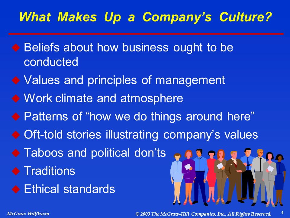 what makes up culture