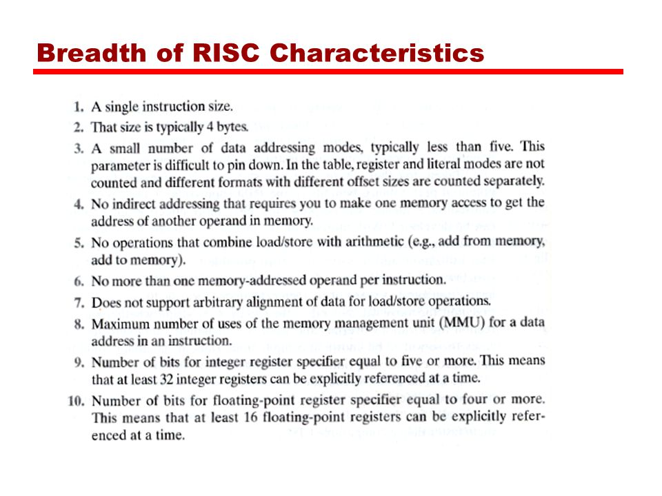 a comparison of the characteristics of the cisc and risc computer technologies Cisc computer risc computer the acronym is variously used if it reads as above (ie as cisc computer), it means a computer that has a c omplex i nstruction s et c hip as its cpu.