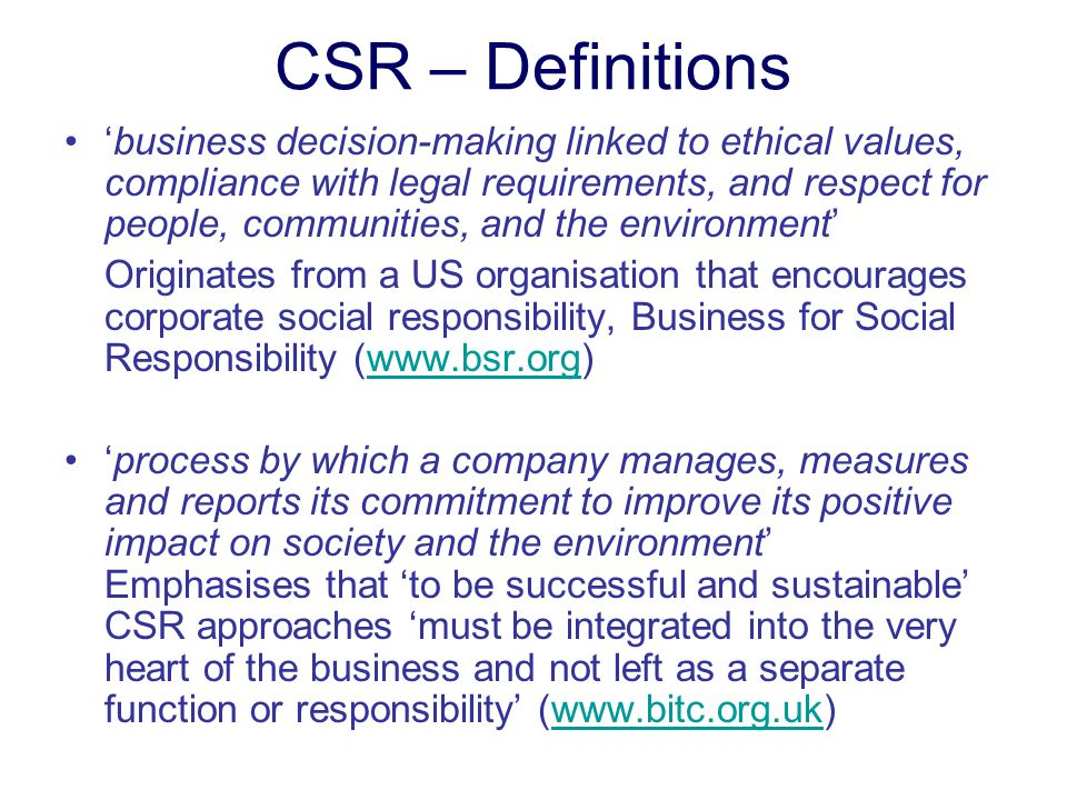 how to improve to respond to legal and ethical requirements