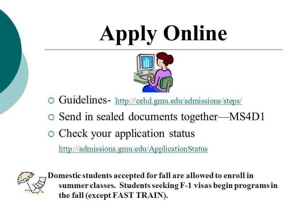 george mason university online programs