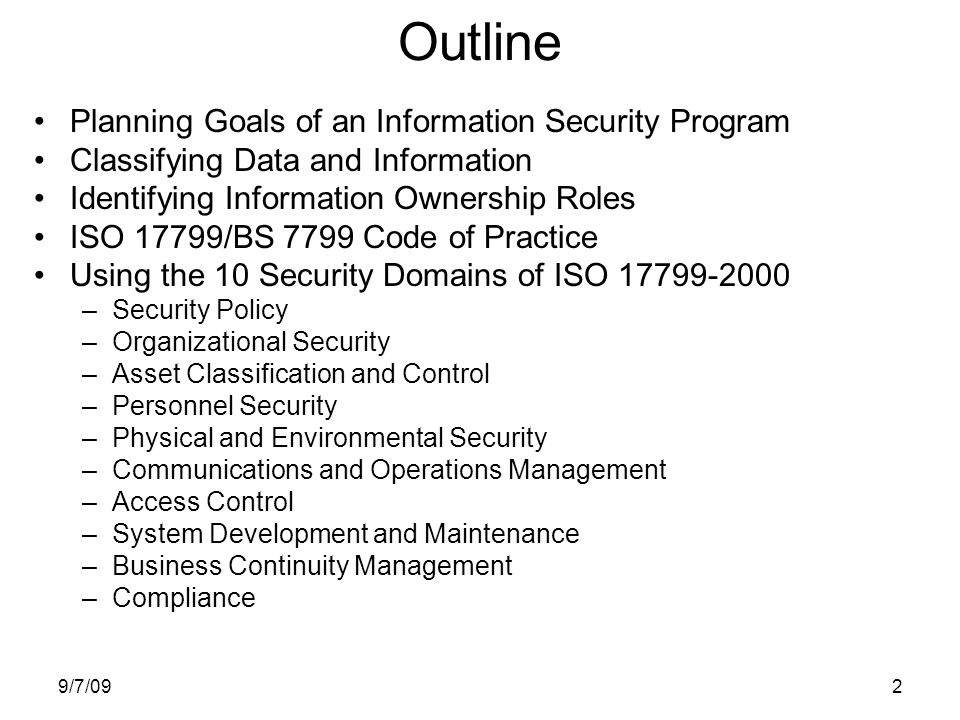 what are the goals of information system security essay Information security management system (isms) training process g7799 practical assignment version 11 the primary goal of th e isms is to ensure that all personnel involved with the in his essay, the human.