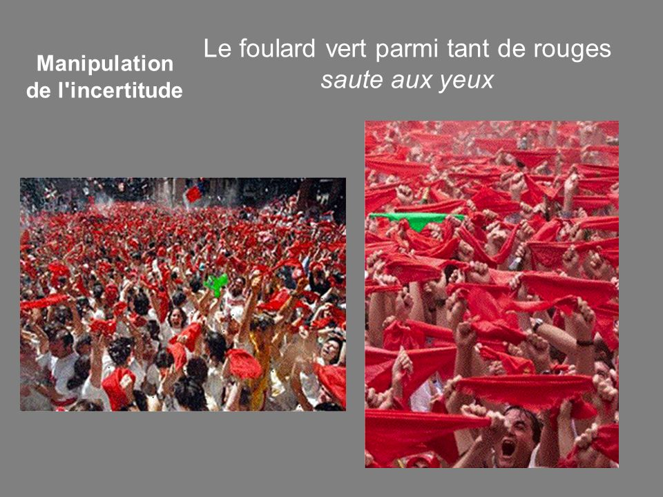 Manipulation de l incertitude