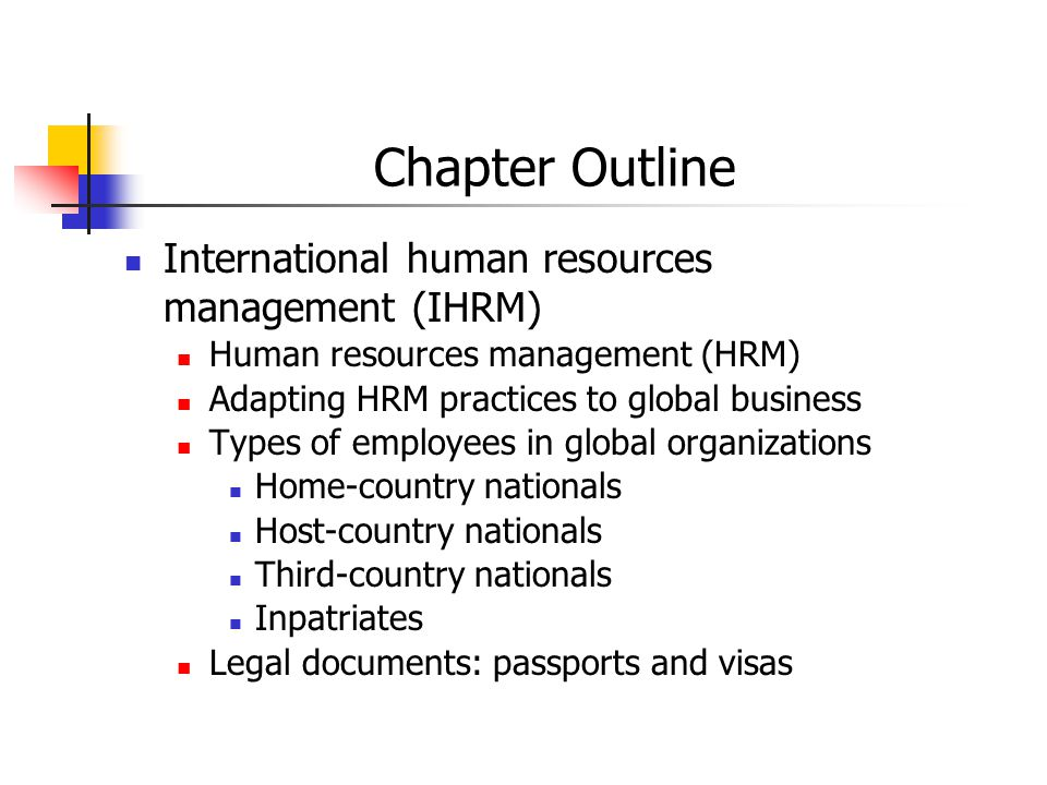 selection criteria in ihrm Careful selection is needed to ensure the success of international assignments therefore, this research was conducted to determine the selection criteria for.