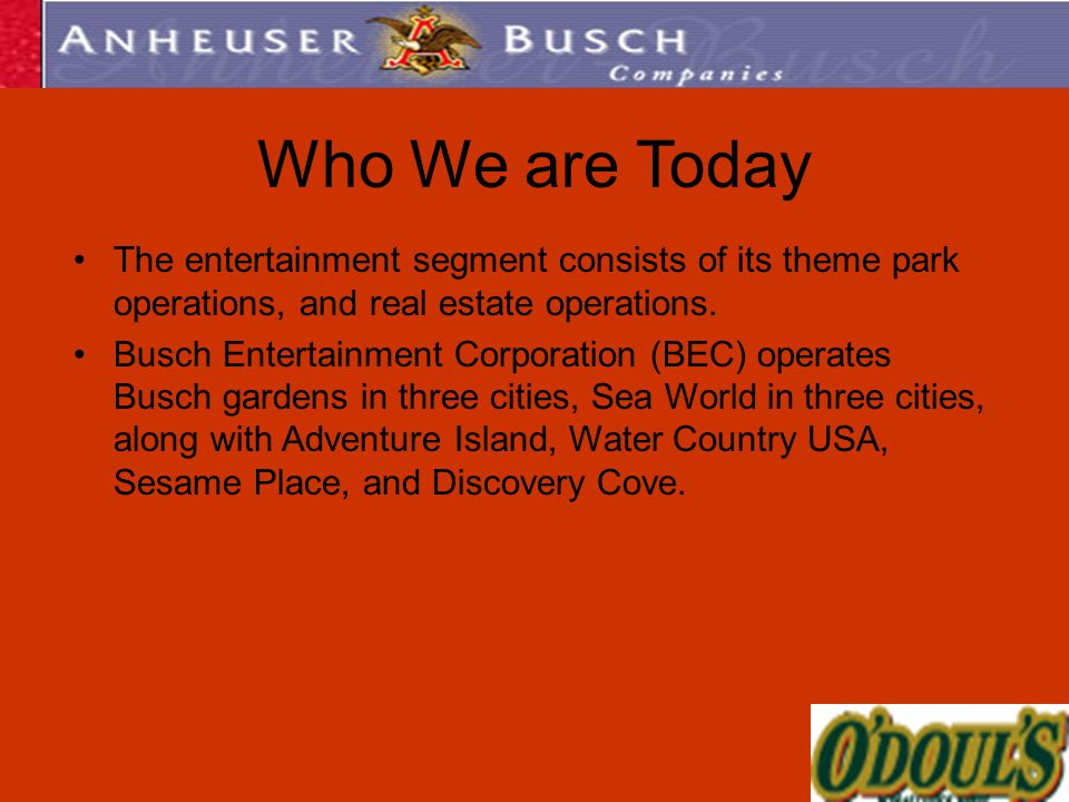 Real Estate Operations : Anheuser busch companies inc ppt video online download