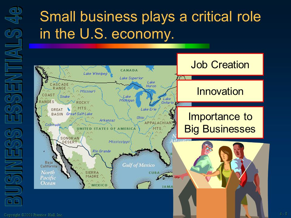 role of small business in economic 2017-11-8 small businesses enjoy an iconic status in modern capitalism, but what do they really contribute to the economy.