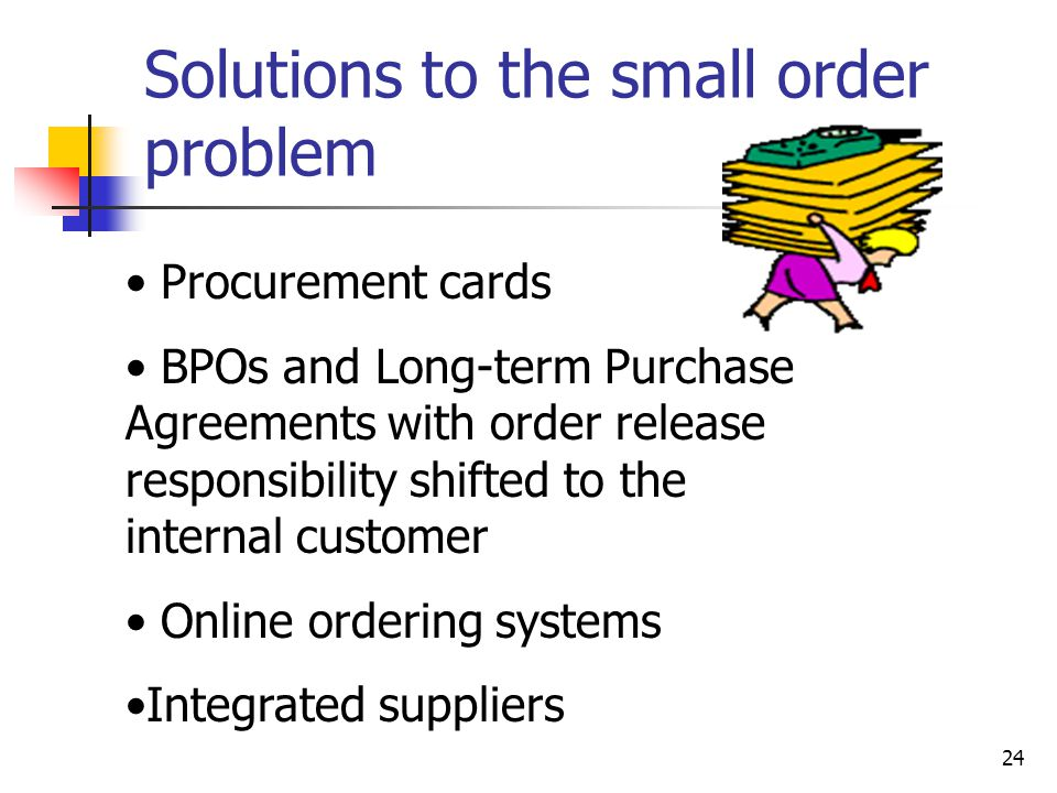 Online and ordering system statement of the problem