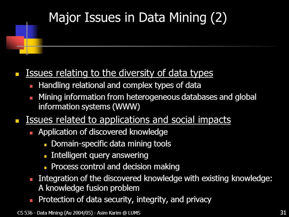Introduction Cs 536 Data Mining Ppt Download