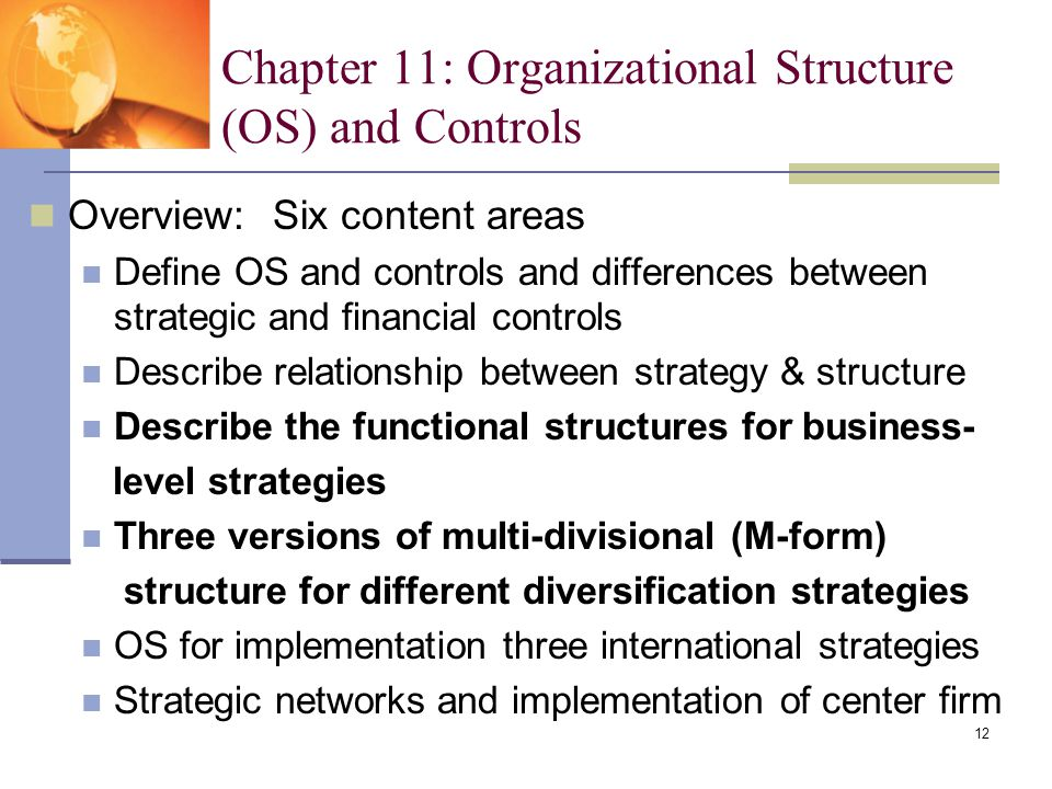 multidivisional organizational form Unitary to multidivisional form, and the turnover of managers in-creases make the organizational form depend on the market structure the com.