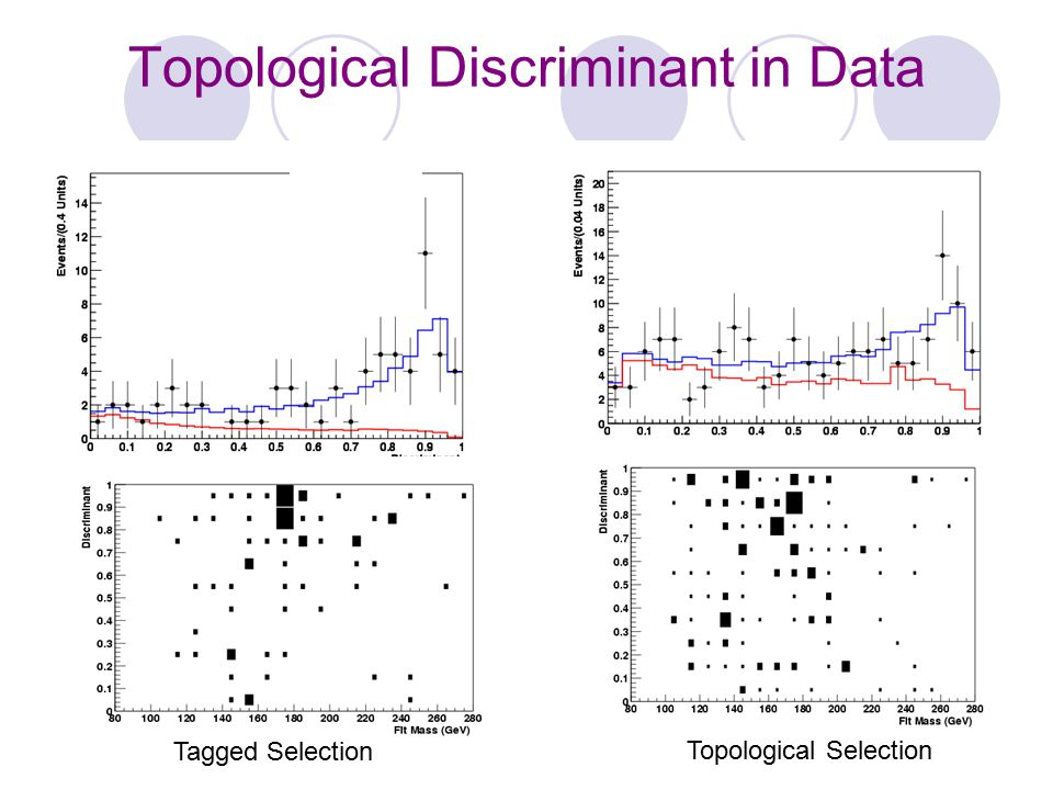 Topological Discriminant in Data