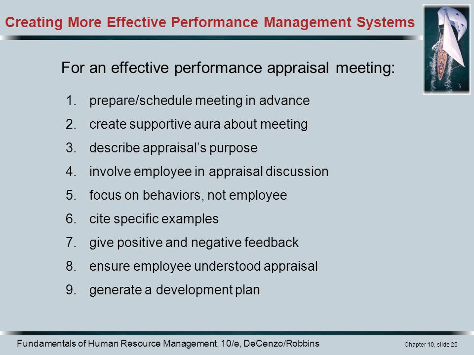 building an effective performance evaluation tool Performance management self-assessment tool  continually improve performance using this tool  and communications to be effective in each component.