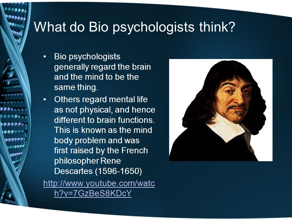 a discussion on rene descartes theory on the mind body problem Descartes mind and body topics: mind descartes' mind-body problem in account of mind and body in examining rene descartes' philosophy on the.