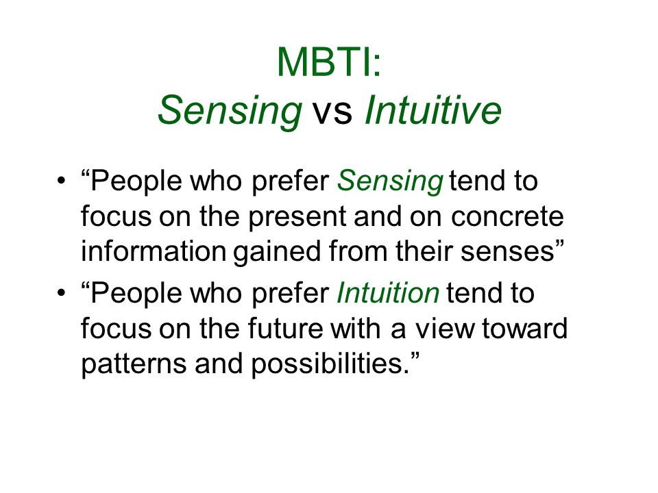 Myers–Briggs Type Indicator