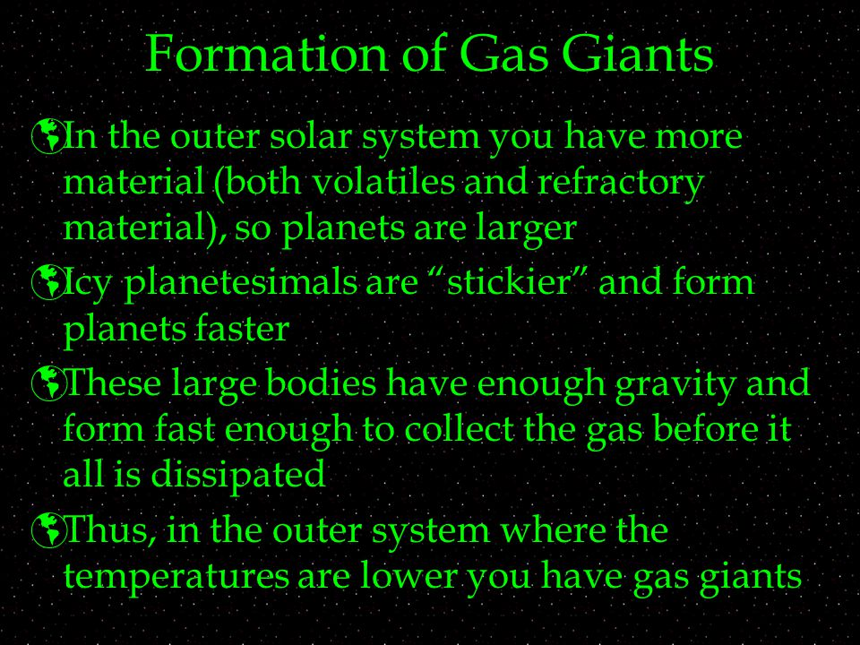 Formation of Gas Giants