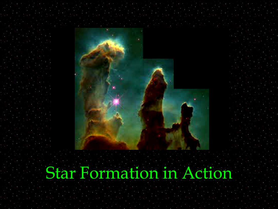 Star Formation in Action