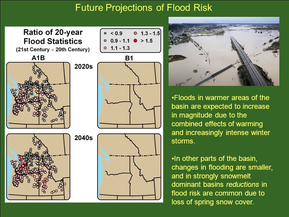 Future Projections of Flood Risk