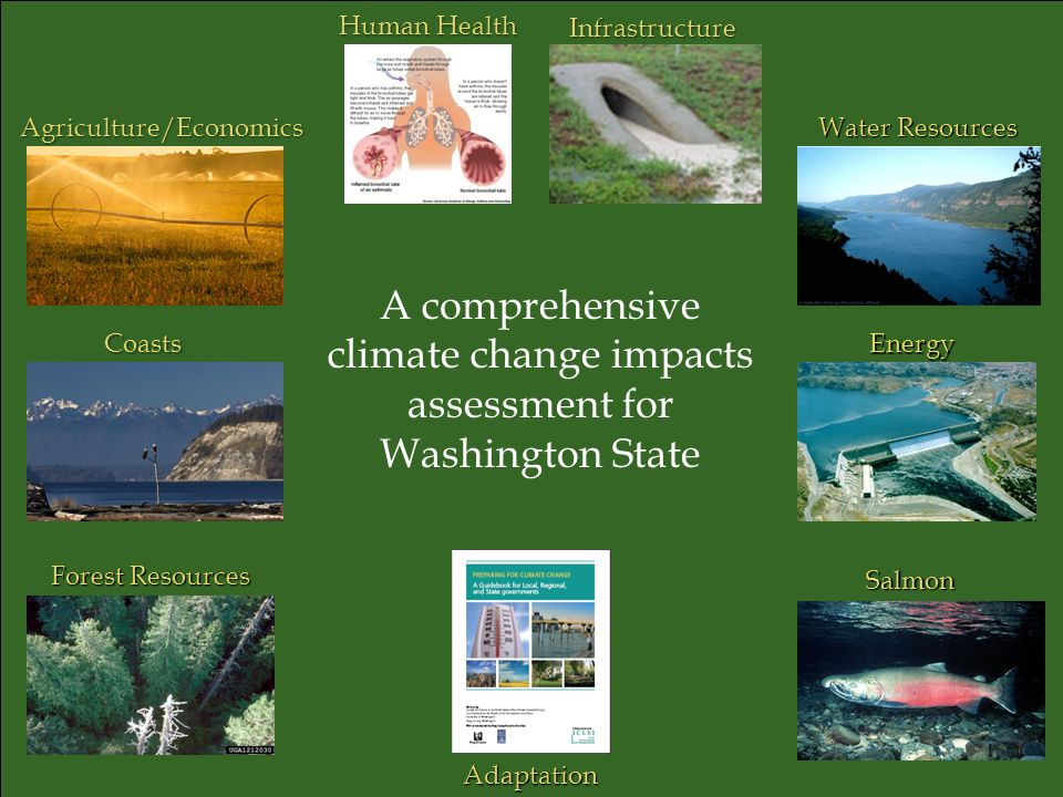 A comprehensive climate change impacts assessment for Washington State