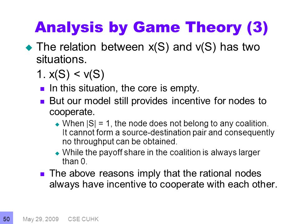 game theory and the reasons for Game theory explorer – software for the applied game theorist game theory provides mathematical concepts and tools for modeling and analyzing curity reasons.