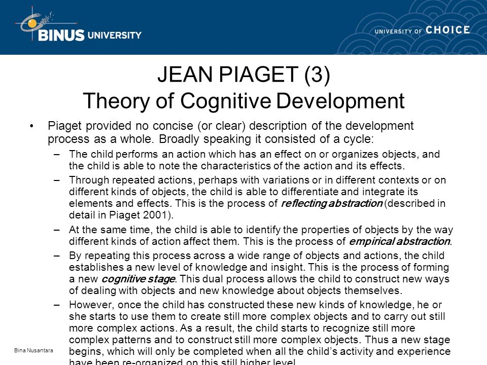 insight for the cognitive development He proposed that social interaction profoundly influences cognitive development  lev vygotsky lived during the russian  perhaps this lends some insight to why.