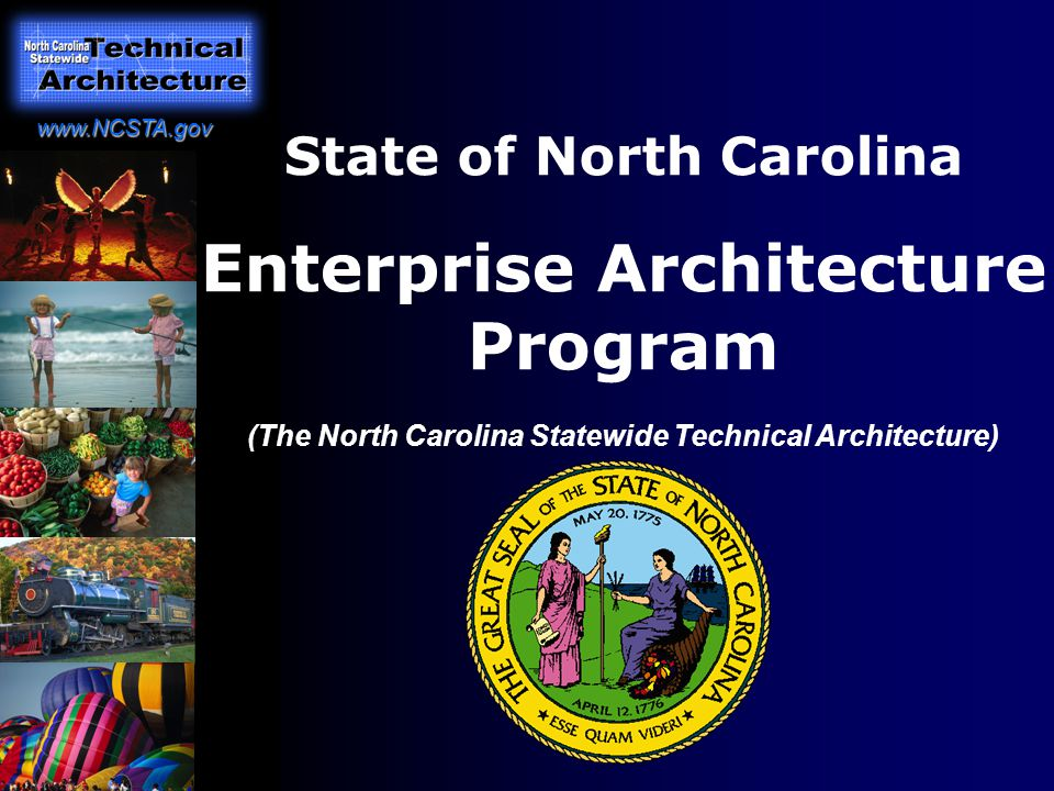 1 State Of North Carolina Enterprise Architecture Program (The North  Carolina Statewide Technical Architecture)
