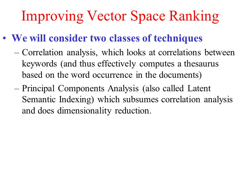 Improving vector space ranking ppt video online download improving vector space ranking publicscrutiny Image collections