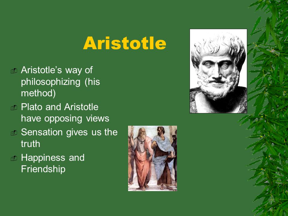 """happiness for aristotle and plato essay During the ancient greek period, the meaning of """"virtue"""" means differently in terms of the philosophy of plato and aristotle in aristotle's opinion, the pursuit of happiness should be one's ultimate life purpose, and happiness is one of the results of being virtuous."""