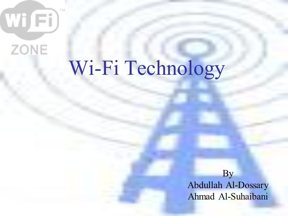 topic wi fi technology and its application Bluetooth vs wi-fi was an international competition that encouraged the development of innovations for applications leveraging bluetooth technology in sports.