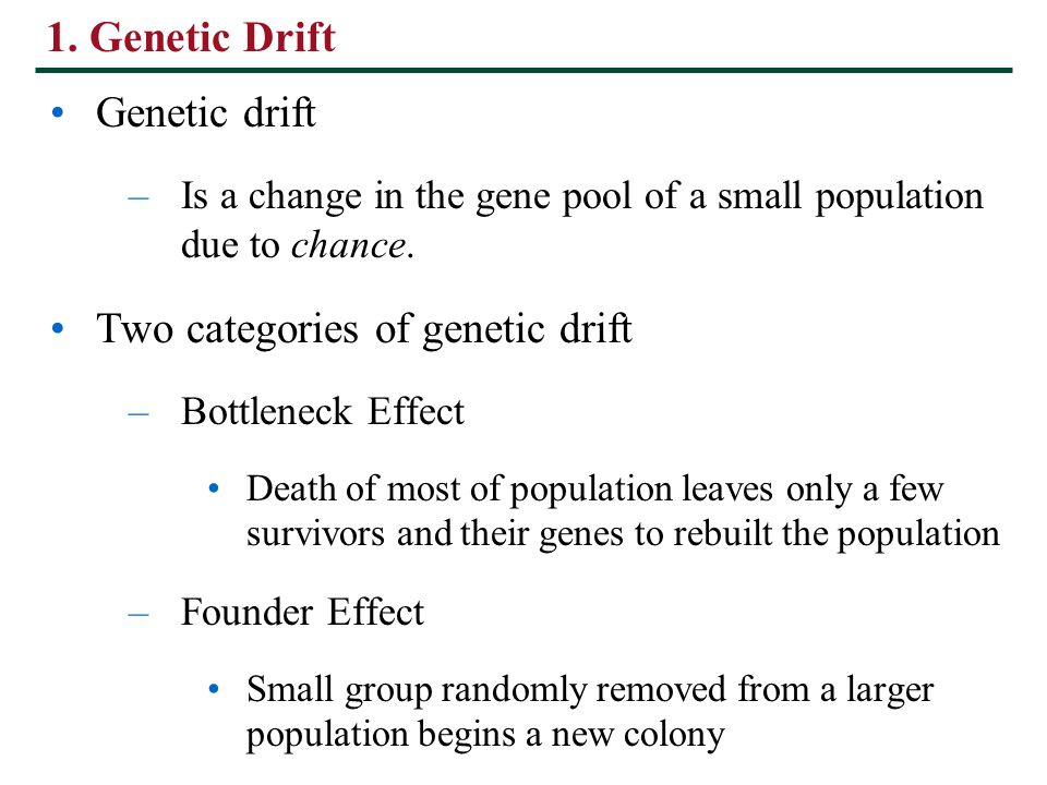 Natural Selection Tends To Reduce Variation In Gene Pools
