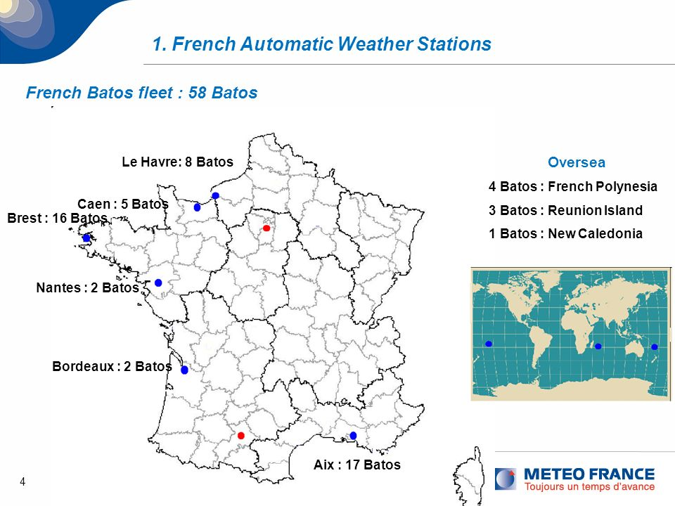 1. French Automatic Weather Stations