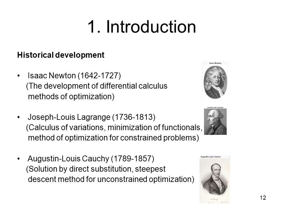 1 Introduction to Isaac Newton