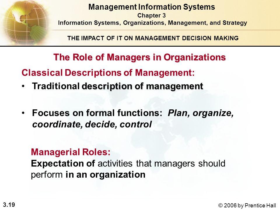 information in organizations