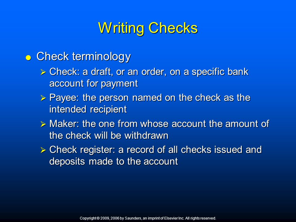 How to Send a Personal Check Abroad