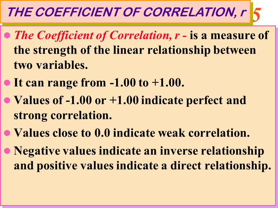 Coefficient Analysis 101