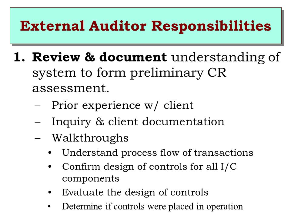 internal and external auditors duty overlap The seven most important iso 9001:2015 audit questions standard uses the clunky term context, but this could easily be substituted by asking about the organization's internal and external success factors.