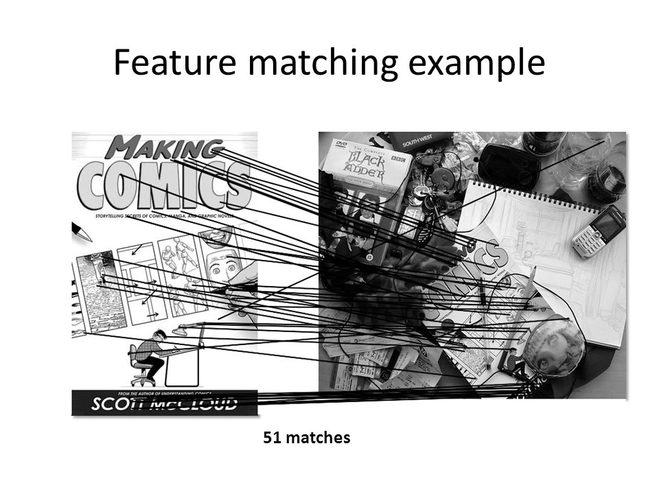 Feature matching example
