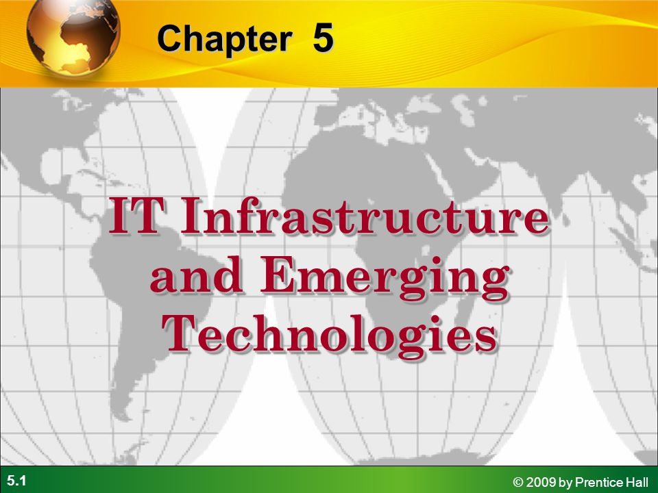 infrastructure emerging technologies in it Emerging technologies, it infrastructure and the journal of global information technology for the journal of global information technology.